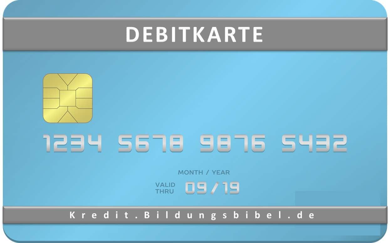 Debitkarte im Kreditkarten Vergleich, Merkmale, Vorteile, Nachteile sowie Kosten