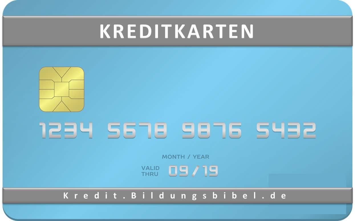 Kreditkarten Übersicht