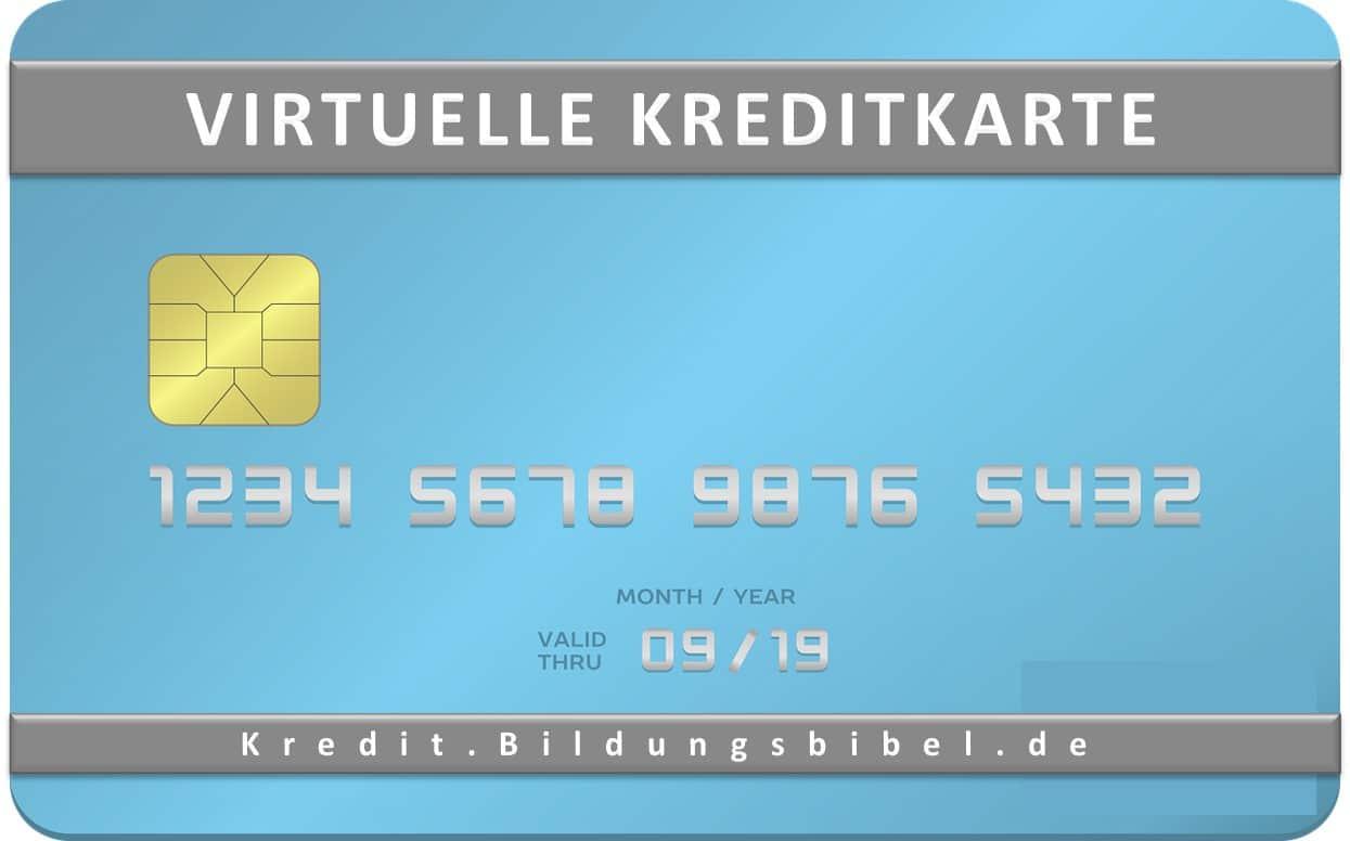 Virtuelle Kreditkarte im Vergleich, Unterschied, Merkmale sowie Nutzen